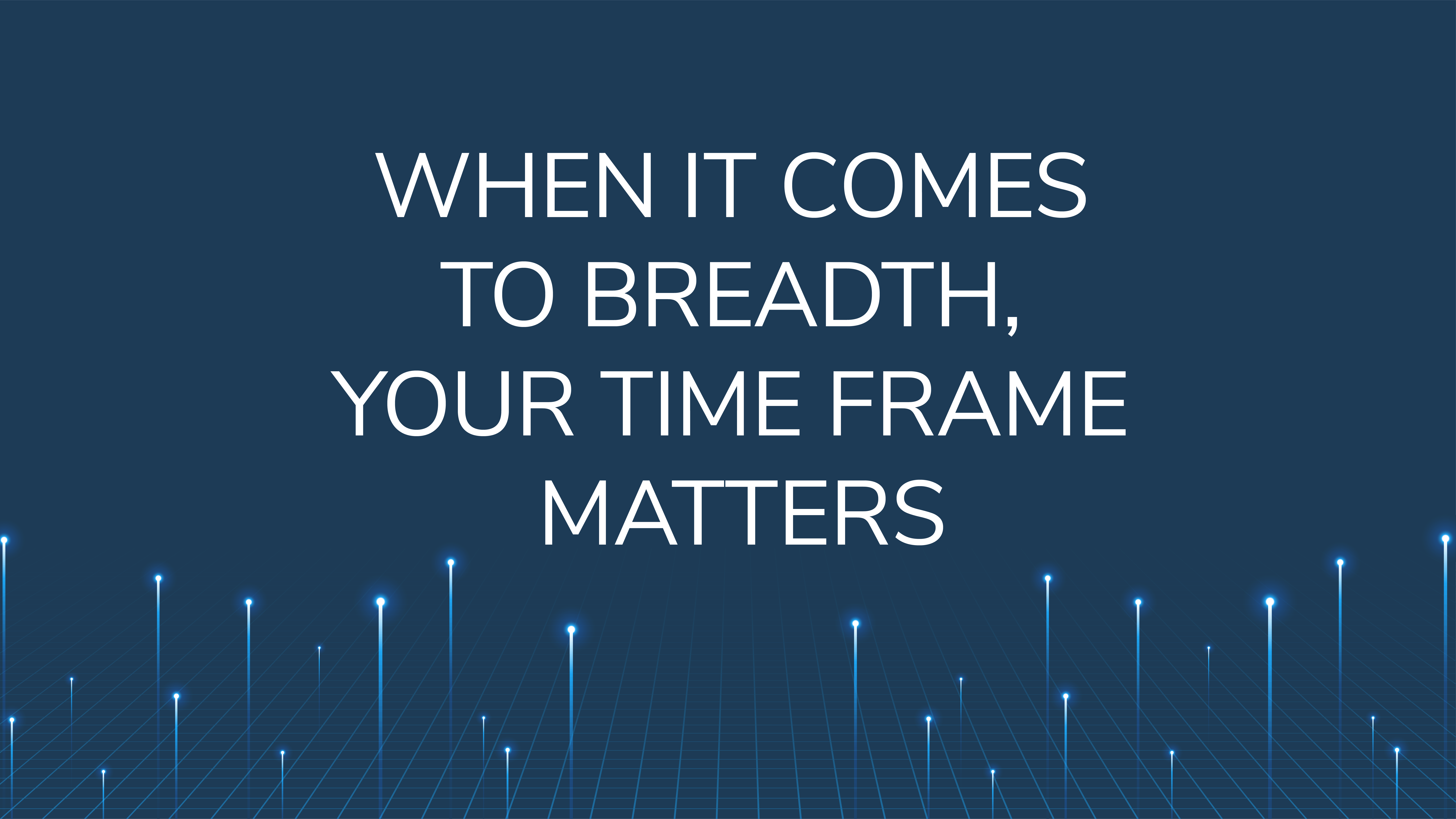 When it Comes to Breadth,  Your Time Frame Matters