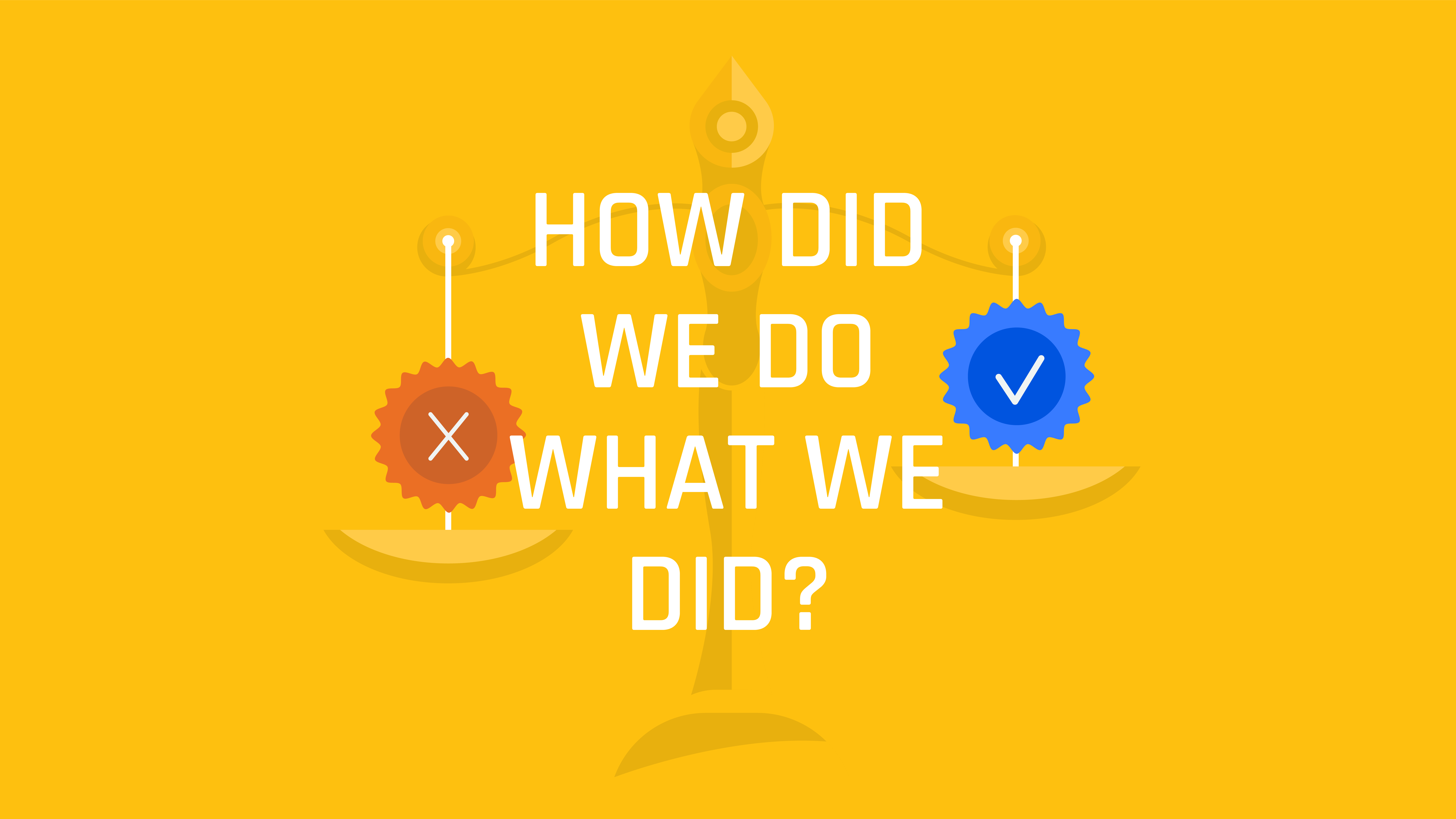 How Did We Do What We Did?  (S4 E18)