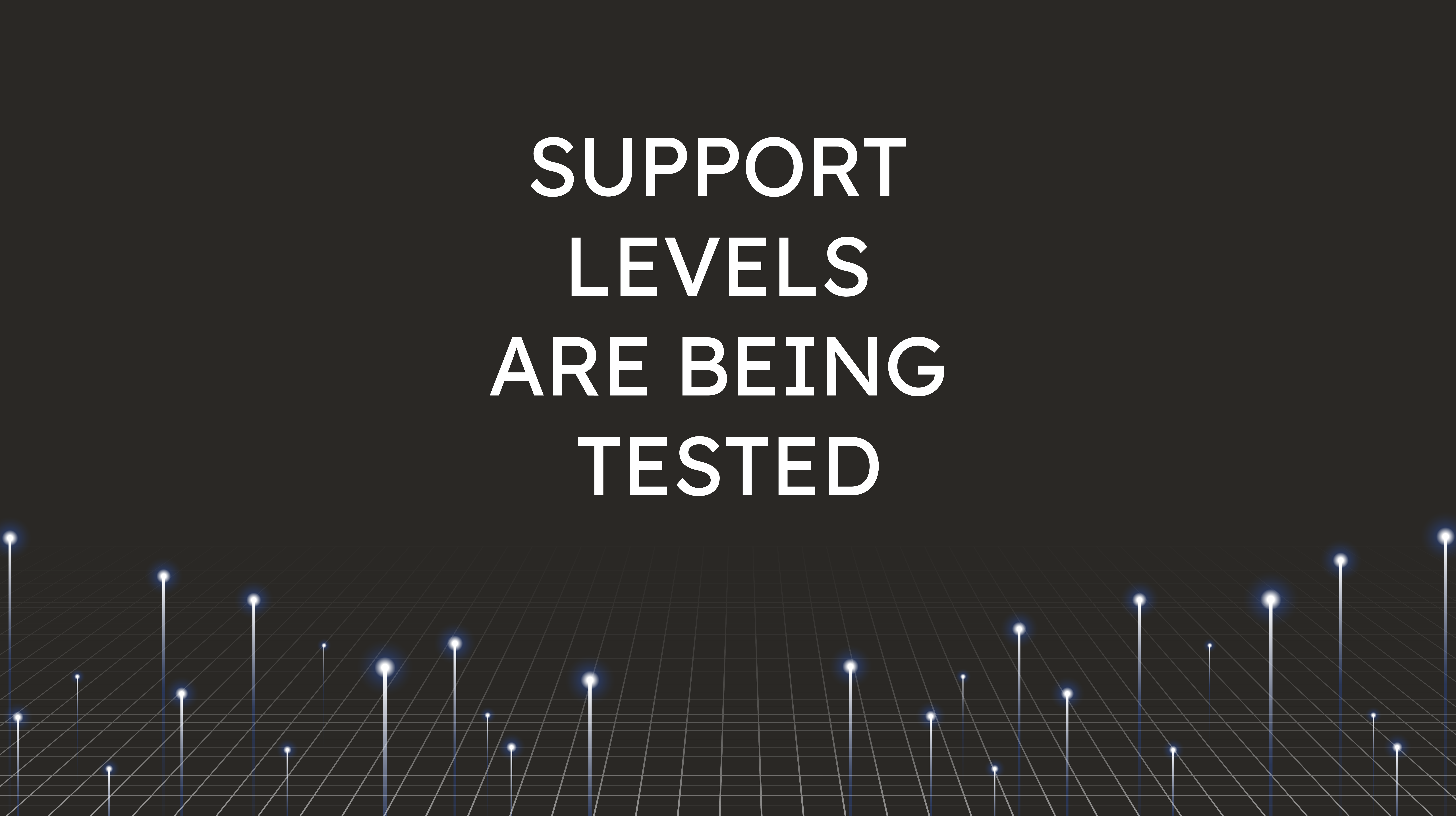 Support Levels  are Being Tested