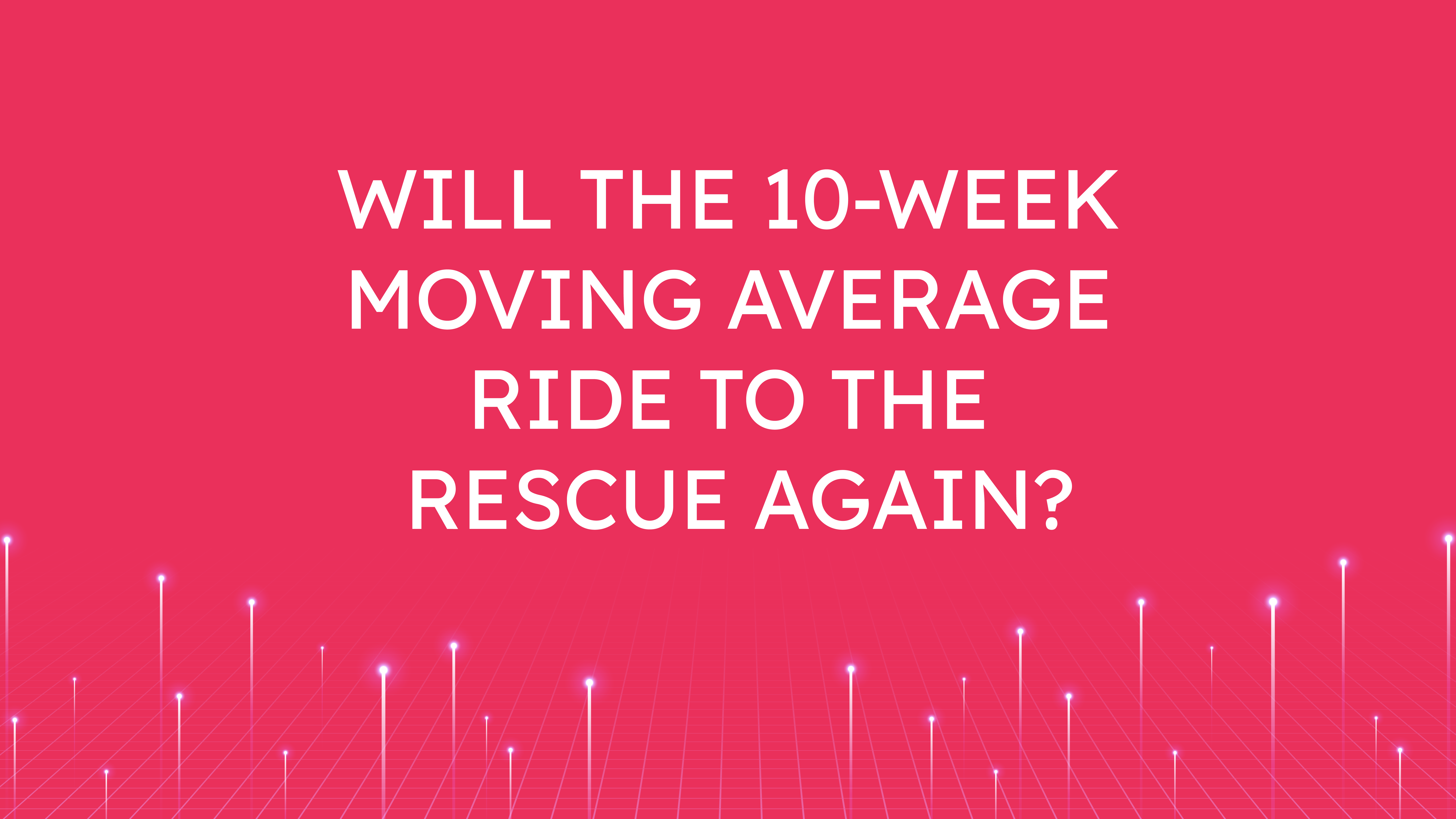 Will the 10-Week Moving Average  Ride to the Rescue Again?
