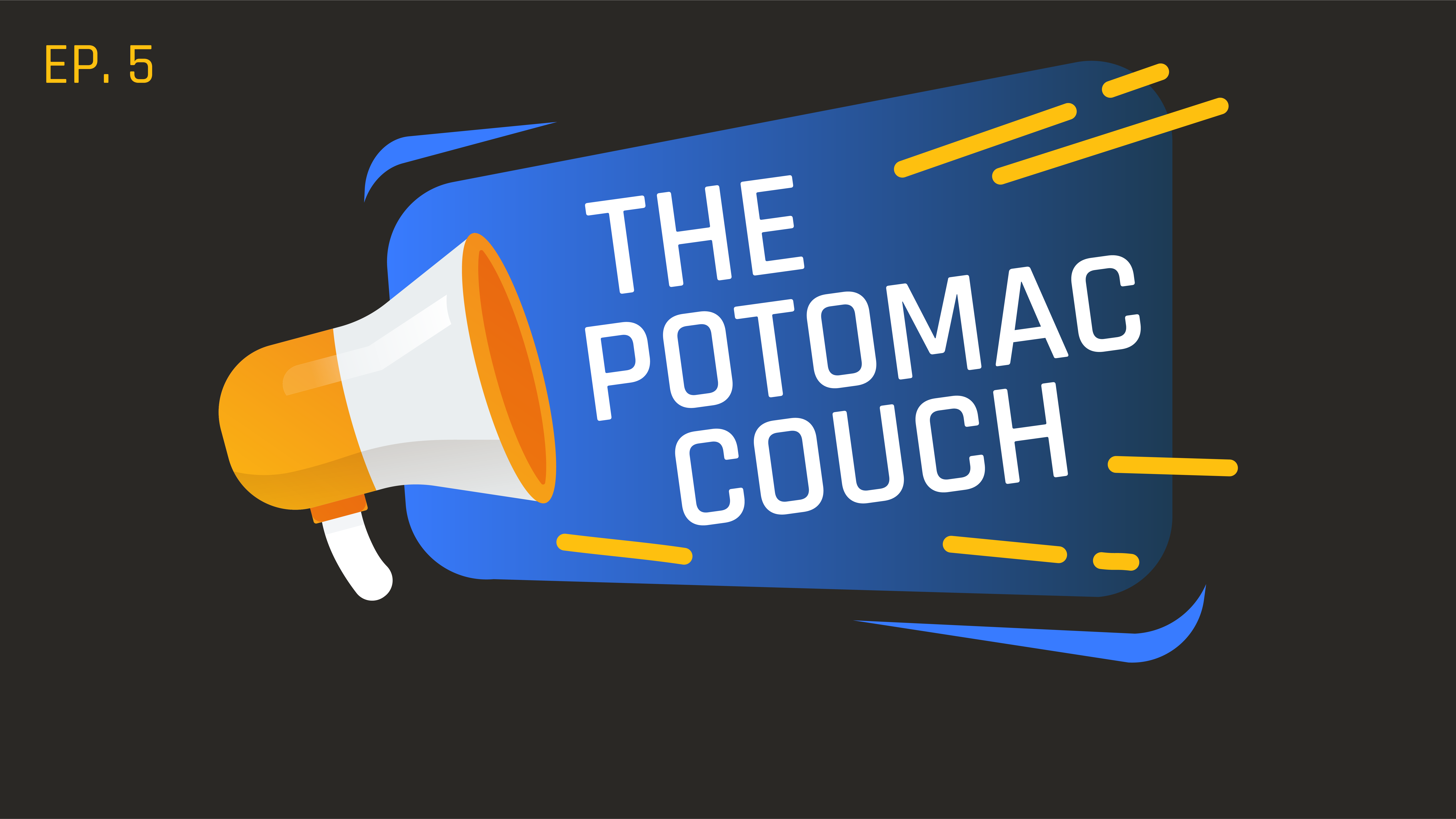 Potomac Couch (E5)  The One with Our Spouses